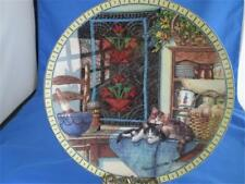 Kitty Cat Plate Lazy Morning Cozy Country Corner Quilts and Cats