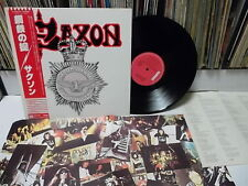 SAXON - Strong Arm Of The Law JAPAN LP W/OBI & Insert