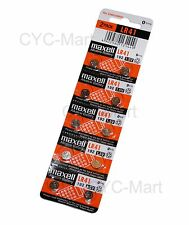 10 pcs Maxell  LR41 0% Hg  Batteries AG3 192 L736 Brand New FREE POST worldwide