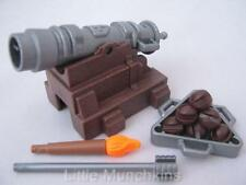 Playmobil pirate/knight/castle extra arme: cannon & balls new