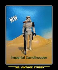 Vintage Custom Star Wars Sandtrooper (Officer) Stormtrooper Orange Pauldron