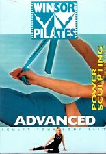 NEW! Winsor Pilates Advanced Power Sculpting with Resistance DVD Mari Workout NR