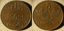 Sweden : 1924 5 Ore  RB. CH.AU-UNC #779.2   IR4366