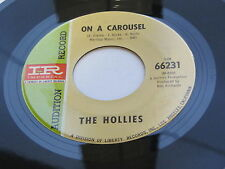 THE HOLLIES 1967 USA 45 ON A CAROUSEL AUDITION RECORD   NOT FOR SALE