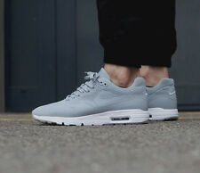 NIKE AIR MAX 1 ULTRA MOIRE Running Trainers Shoes Gym Casual UK 7.5 (EU 42) Grey