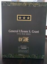 GI JOE  HASBRO GENERAL ULYSSES S. GRANT CIVIL WAR SERIES original box 1998 e66