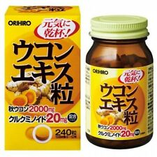 ORIHIRO NL turmeric extract 240 tablets 20-30 days liver support supplement F/S