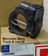 Mercedes Sprinter Intake Air Throttle Body, Genuine Mercedes Part, 6510900470
