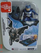 NEW App Tivity iPAD BATMAN EMP Assault Dark Knight Figure Apptivity TOY Game