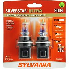 SYLVANIA 9004 SilverStar Ultra High Performance Halogen Headlight Bulb (Pack ...