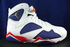 NIKE AIR JORDAN 7 RETRO VII ALTERNATE OLYMPIC TINKER USA 304775 123 SZ 11.5