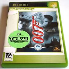 James Bond 007 - Everything or Nothing for Xbox - with box & manual