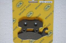 REAR BRAKE PADS fit BOMBARDIER Rally 200, 2005-2007 Rally200