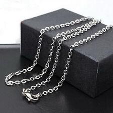 50cm Länge Halskette Edelstahl Herrenkette Damen Herren Kette Halskette Schmuck