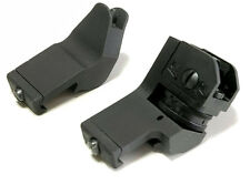 US Front and Rear 45 Degree Offset Rapid Transition BUIS Backup Iron Sight Set