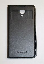 Samsung S-View Flip Cover Case for Samsung Galaxy S4 - Black