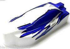 Bs701-030 1/10 Nitro Rc Buggy Body Cubierta Shell Azul