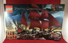 LEGO 4195 Queen Anne's Revenge 2011 Pirates Of The Caribbean New In Box Retired