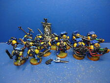 5 wolfsfänge + 9 de marines Space wolves metal