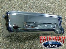09 thru 14 Ford F-150 OEM Genuine Ford Rear Chrome Step Bumper w/ Prox LH Driver
