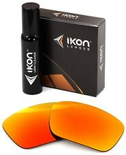 Polarized IKON Iridium Replacement Lenses For Oakley Fuel Cell Fire Mirror