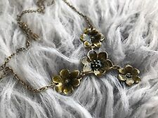 Anthropologie PILGRIM Necklace Boho Floral