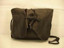 Urban Renewal Recycled Black Leather CrossBody Bag Purse Messenger Hippie BOHO
