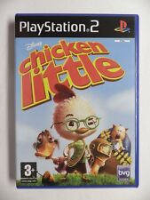 COMPLET jeu DISNEY CHICKEN LITTLE sur playstation 2 PS2 en francais juego gioco