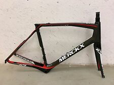 EDDY MERCKX SALLANCHES 64 CARBON FIBER ROAD BIKE FRAMESET SIZE LARGE NEW!