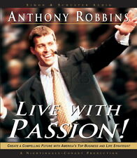 Live With Passion 6 CD Anthony Tony Robbins (Nightingale Conant)