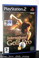 INTERNATIONAL GOLF PRO GIOCO USATO OTTIMO STATO SONY PS2 EDIZIONE ITALIANA 31281