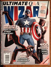 Wizard Magazine Issue # 224 May 2010 - Captain America - Deadpool - Iron Man 2