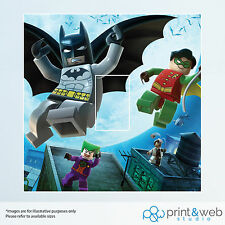 Lego Batman Light Switch Sticker Decal Kids Bedroom Art