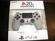 Sony 20th Playstation Anniversary Dualshock 4 Controller Grey PS4 DS4 Dual Shock