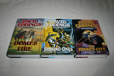 3V TAMULI SERIES David Eddings HCDJ 1ST/1ST Domes Fire Shining Ones Hidden City