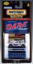 Matchbox DARE D.A.R.E. Collection Lafayette Police Department Indiana MOC