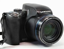 Samsung WB5000 12.5mp Digital Camera. 3 Spare batteries, Manual, Charger