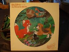 Walt Disney Productions'The Story Of The Fox and the Hound Picture Record