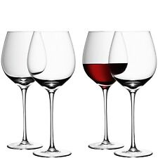 LSA Wine Red Vino Glass-Clear-Set di 4