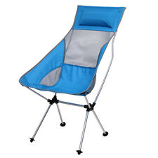 Portable Folding Aluminum Stool Fishing Camping Hiking Beach Picnic Chair + Bag