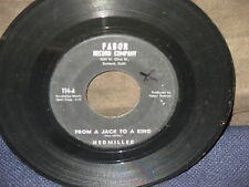 "Ned Miller ""Parade of Broken Heats""/From Jack to a King"" 45"