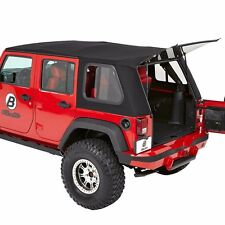 Bestop Trektop Pro Hybrid Soft Top, Glass, & Hardware 07-16 4dr Jeep Wrangler JK