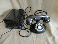 Western Electric 202 D1  - Oval base desk phone - 634A subset bell box