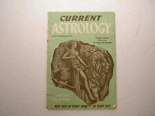 Current Astrology August September 1949 Horoscope Antique Vintage Old Romance