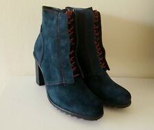 Clarks Ladies Keswick Midnight Suede Ankle Boots Uk Size 7.5/Eur 41.5 RRP 69.99