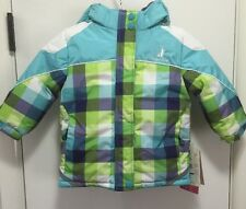 NEW~~RUGGED BEAR Infant/Toddler Girl's Multi-Colored Hooded Puffer Coat~~Size 2T