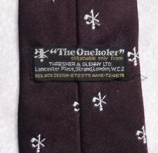 TIE GOLF ONEHOLER HOLE IN ONE ONE HOLER VINTAGE 1970s 1980s THRESHER GLENNY