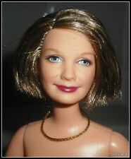 NUDE BARBIE HTF MATTEL HAPPY FAMILY GRANDMA  JOINTED  BLUE EYES DOLL FOR OOAK