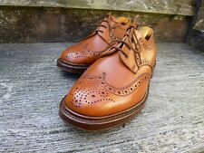 CROCKETT AND JONES BROGUE DERBY – BROWN / TAN - UK 9 – IMMACULATE CONDITION