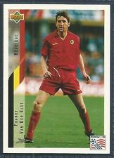 UPPER DECK WORLD CUP USA 1994- #086-BELGIUM-FRANKY VAN DER ELST
